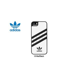 adidas Originals TPU/Rubber Case iP5/5s White/Black|ymobileselection
