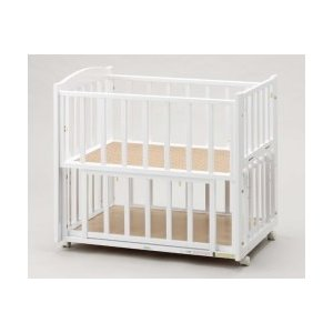 ツーオープンミニサイズベッド b-side(ビーサイド)miniミニベッド ホワイト ヤマサキ|ymsk-baby