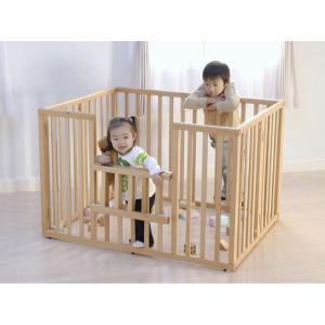 ベビー 折りたたみ 木製サークル 小型 ヤマサキ 国産 |ymsk-baby