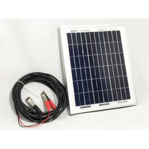8W多結晶ソーラーパネル(12Vシステム系・超高品質)(MS...