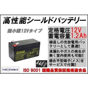 12V 1.2Ah 高性能 シールドバッテリー (WP1.2-12)(完全密封型鉛蓄電池)12V 小型