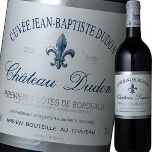 (赤ワイン)シャトー・デュドン・キュヴェ・ジャン・バプティスト・デュドン 2000 wine