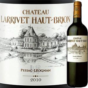 (赤ワイン)シャトー・ラリヴェ・オー・ブリオン 2010 wine