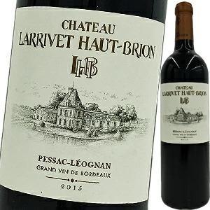 (赤ワイン)シャトー・ラリヴェ・オー・ブリオン 2015 wine
