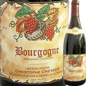 (赤ワイン・フランス・ブルゴーニュ)ドメーヌ・クリストフ・シュヴォー・ブルゴーニュ・ルージュ 2015 wine