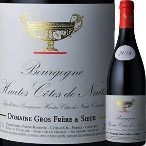 (赤ワイン フランス ブルゴーニュ)ドメーヌ・グロ・フレール・エ・スール・オート・コート・ド・ニュイ...