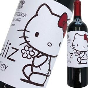 (赤ワイン・チリ)エチェヴェリア・フェリス・ハロー・キティ 2016 wine