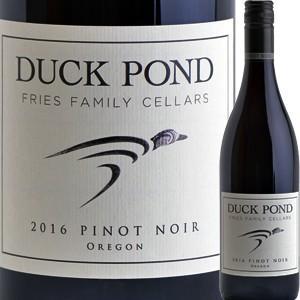 (赤ワイン アメリカ オレゴン)ダック・ポンド・セラーズ・ピノ・ノワール 2016 wine
