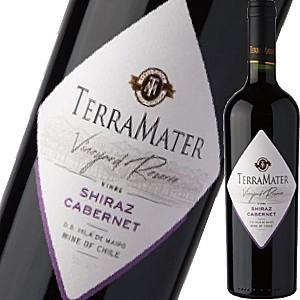 (赤ワイン チリ) テラ・マター・ヴァラエタル・シラーズ・カベルネ wine
