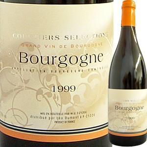 (赤ワイン・フランス・ブルゴーニュ)クルティエ・セレクション・ブルゴーニュ・ルージュ 1999 wine...