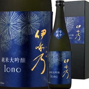 (日本酒 純米大吟醸酒)伊乎乃(いおの)・純米大吟醸・雪中貯蔵・原酒 2018 wine