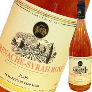 (ロゼワイン フランス) マルキ・ド・ボーラン・グルナッシュ・シラー・ロゼ wine