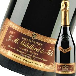(シャンパン、スパークリング・フランス・シャンパーニュ) J.M.ゴビヤール・キュヴェ・プレステージ・ロゼ・ミレジム 2011