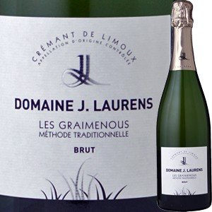 (シャンパン、スパークリング・フランス) ドメーヌ・ジ・ロレンス・クレマン・ド・リムー・レ・グレムノス NV(acrk11)