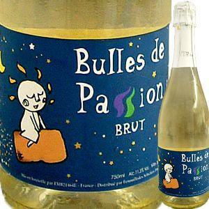 (シャンパン、スパークリング フランス) ブル・ド・パッション・ブリュット wine