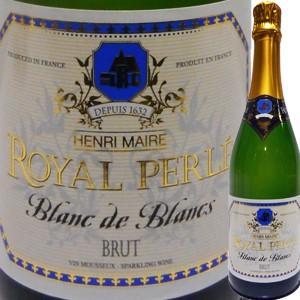 (シャンパン、スパークリング・フランス) アンリ・メール・ロワイヤル・ペルレ・ブリュット・ブラン・ド・ブラン NV