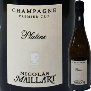 (シャンパン、スパークリング・フランス・シャンパーニュ) ニコラ・マイヤール・ブリュット・プラティーヌ・プルミエ・クリュ NV