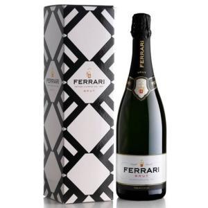 (シャンパン、スパークリング・イタリア) フェッラーリ・ブリュット NV(箱入り)