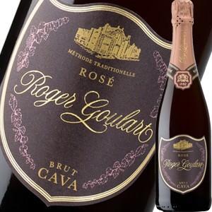 (シャンパン、スパークリング・スペイン)ロジャー・グラート・カヴァ・ロゼ・ブリュット 2013 wine
