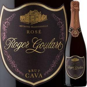 (スパークリングワイン・シャンパン)ロジャー・グラート・カヴァ・ロゼ・ブリュット 2017 wine