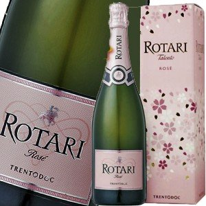 (シャンパン、スパークリング・イタリア) ロータリ・タレント・ブリュット・ロゼ NV(サクラ・ボックス)