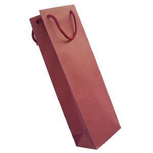 ワイン袋 1本用 無地ワインレッド(ギフトgift) wine