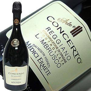 スパークリング イタリア コンチェルト ランブルスコ レッジアーノ セッコ 750ml sparkling wine MT|yo-sake
