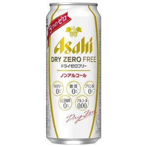 アサヒ ドライゼロフリー 500ml x 24本(ケース販売) 送料無料※(本州のみ) (2ケースまで同梱可能)|yo-sake