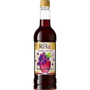 サントネージュ リラ プレミアムこく赤 ペットボトル 720ml x 12本 (ケース販売) (日本/赤ワイン) yo-sake