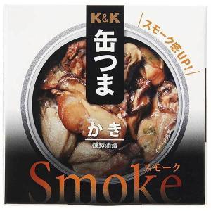 缶つまSmoke かき 50g (KK 国分)|yo-sake