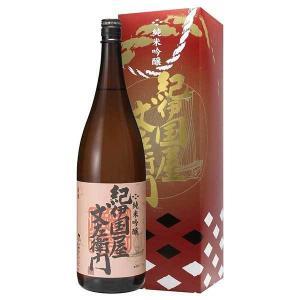 日本酒 紀伊国屋文左衛門 純米吟醸KJG-30 1.8L 1800ml (中野BC/和歌山県) yo-sake