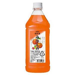 アサヒ 果実の酒 みかん酒 1.8L 1800ml(アサヒ/カクテルコンク)|yo-sake