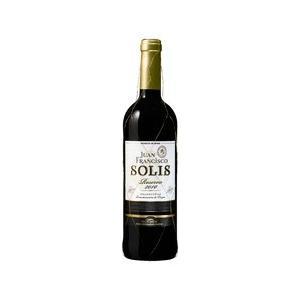 ワイン 赤ワイン スペイン フアン フランシスコ ソリス レセルバ 750ml wine|yo-sake