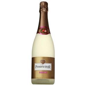 ポンパドール ライチ 750ml x 12本 送料無料※(本州のみ) (ケース販売)(スペイン/スパークリング/フルーツ/POMPA D'OR)  あすつく|yo-sake