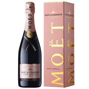 シャンパン モエ シャンドン ロゼ アンペリアル 750ml 並行品 (箱付) あすつく champagne wine|yo-sake