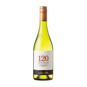 120(シェント ベインテ)シャルドネ 750ml (チリ/白ワイン) 送料無料※(本州のみ)