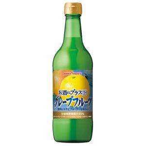 ポッカ お酒にプラス グレープ フルーツ 540ml|yo-sake