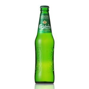 カールスバーグ クラブボトル 330ml x 24本 (ケース販売)|yo-sake