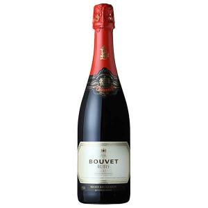 ブヴェ ラデュベ ルビー エクセランス 750ml (三国/フランス/ロワール/スパークリングワイン/やや甘口/01327)|yo-sake