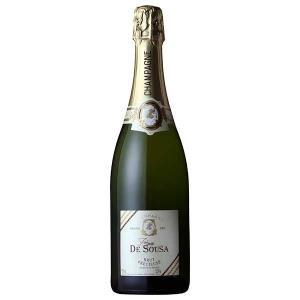 ゾエミ ド スーザ ブリュット プレシューズ グラン クリュ ブラン ド ブラン 750ml (三国/フランス/シャンパーニュ/スパークリングワイン/辛口/01772)|yo-sake