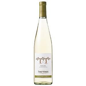 ツーヴァインズ リースリング 750ml (アメリカ/白ワイン) 送料無料(本州のみ)
