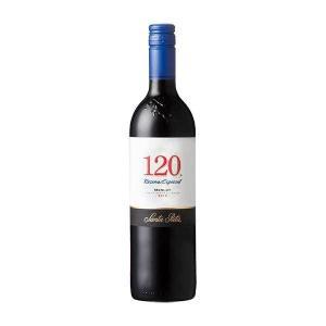 120(シェント ベインテ)メルロー 750ml (チリ/赤ワイン) 送料無料※(本州のみ)