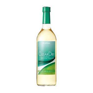 サッポロ クリアドライ 白 720ml x 12本[ケース販売][サッポロ/日本/岡山県/白ワイン/...