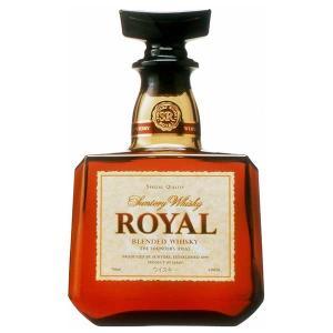 サントリー ローヤル 角瓶 43度 700ml x 12本 (ケース販売)|yo-sake