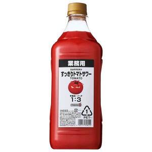 すっきりトマトサワーコンク PROMIX 24度 [PET] 1.8L 1800ml x 6本[ケース販売] 送料無料※(本州のみ) あすつく [サントリー/日本/甘味果実酒/PRMT]|yo-sake