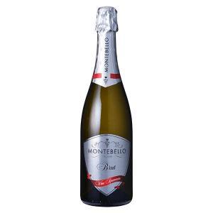 モンテベッロ スプマンテ ブリュット ビアンコ 750ml (イタリア/ヴェネト/スパークリングワイン006081) モンテ|yo-sake