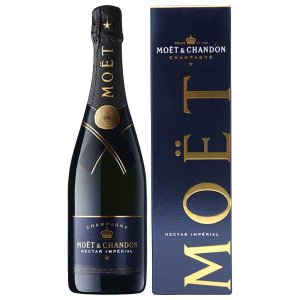 シャンパン モエ シャンドン ネクター アンペリアル 750ml 並行品 (箱付) champagne wine|yo-sake