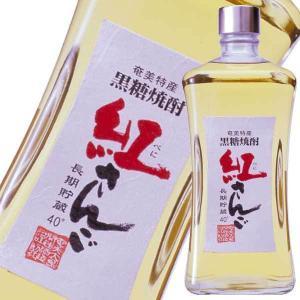 焼酎 黒糖焼酎 紅さんご 40度 720ml (瓶)(奄美開運酒造/鹿児島県)|yo-sake