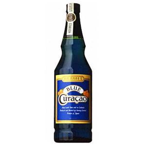 サントリー ヘルメス ブルーキュラソ 720ml|yo-sake