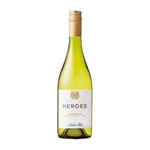 ワイン 白ワイン チリ ヒーローズ シャルドネ 750ml wine|yo-sake